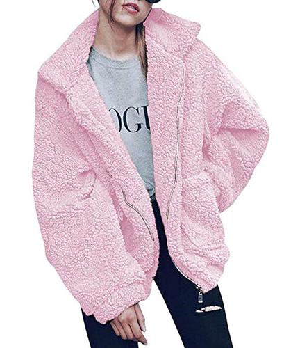 ariana grande 7 rings halloween costume pink fuzzy jacket