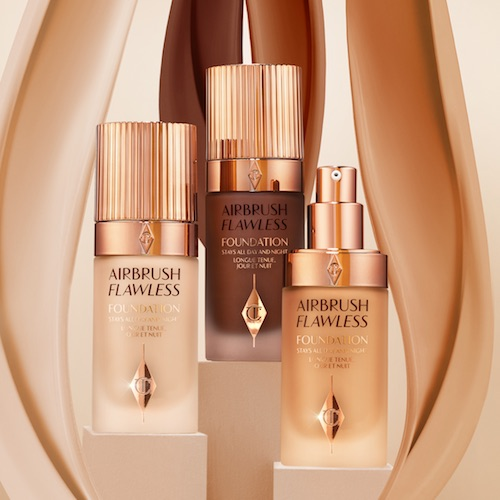 Charlotte Tilbury's Airbrush Flawless Foundation Is Finally Here And It Is *So* Good
