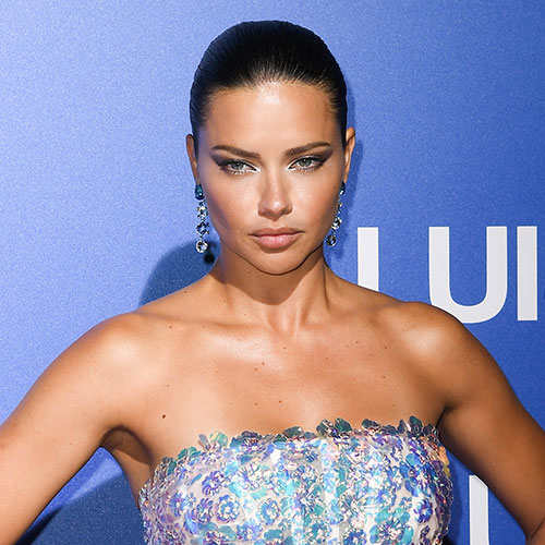 We Can't Believe Adriana Lima Got Away With Wearing This Low-Cut Bathing Suit On Instagram--Her Boobs Are Practically Out!