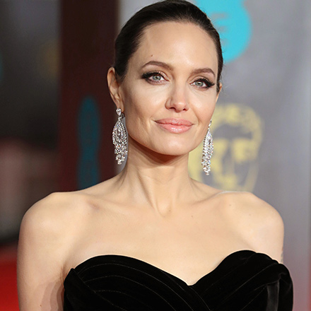 Angelina Jolie Turned Heads In This Black Dress On The Red Carpet--Did We Mention That It Was COMPLETELY See-Through?!