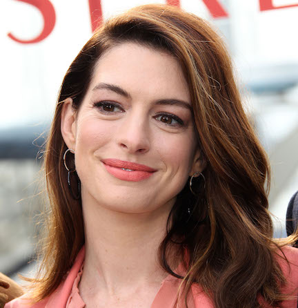 Anne Hathaway Really Put It ALL On Display In This Sexy Pink Dress On The Red Carpet–She's Barely Covered!