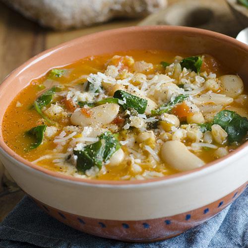 barley bean soup