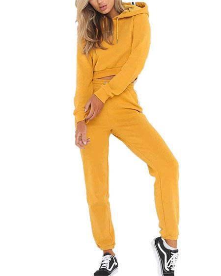 yellow sweatsuit billie eilish bad guy halloween costume