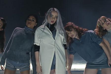 billie eilish ocean eyes dance performance music video still
