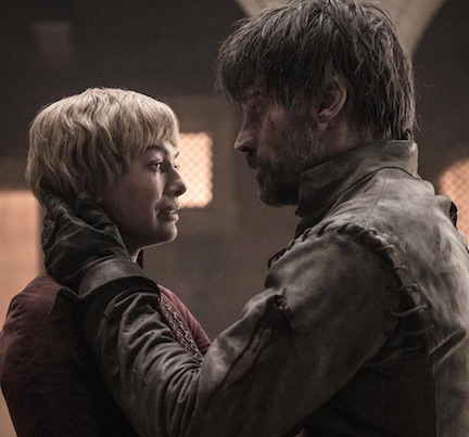 cersei lannister and jaimie lannister