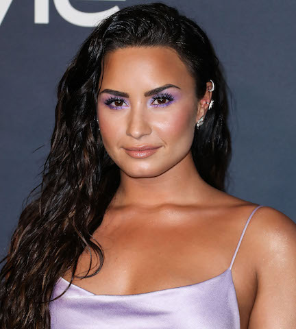 Demi Lovato's Crop Tops Keep Getting Smaller & Smaller—This White One Is SO Tiny!