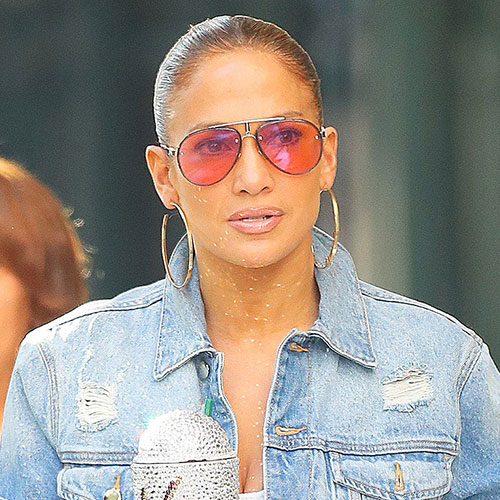 This May Be The Tightest Outfit Jennifer Lopez Has Ever Worn--Her Body Looks Incredible!