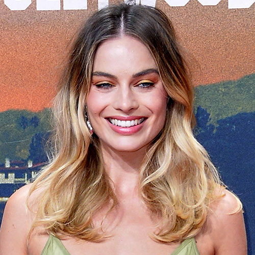Margot Robbie Is Practically Spilling Out Of This Low-Cut Dress On The Red Carpet--It's UNREAL!