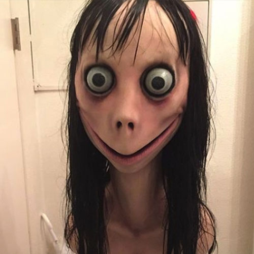 Hands Down, This Is The Scariest Halloween Costume Of 2019: The Momo Challenge