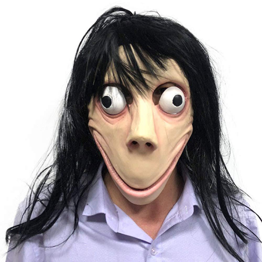 momo challenge halloween costume mask