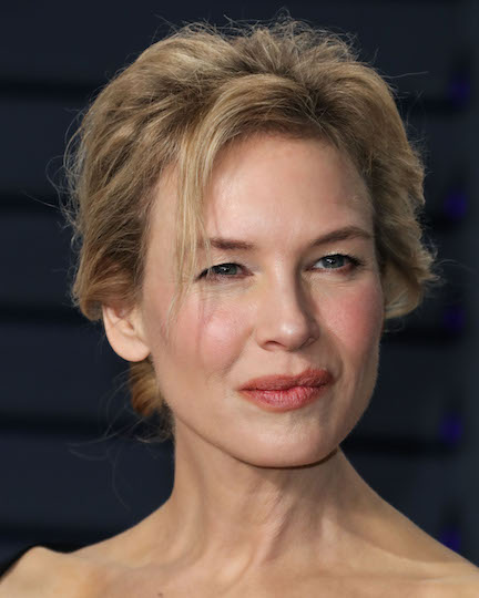 Renée Zellweger Really Put It ALL On Display In This Pink Mini Dress–She's Barely Covered!
