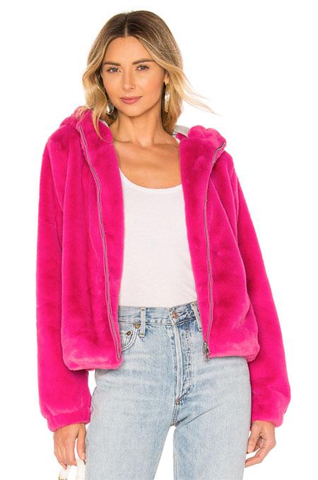 taylor swift halloween costume pink fur jacket