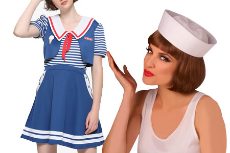 robin strangers things sailor halloween costume diy