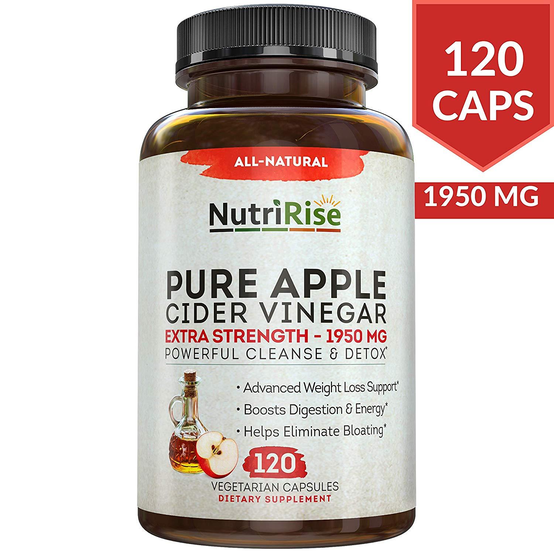 NutriRise Apple Cider Vinegar Capsules