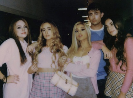 ariana grande thank u next cast