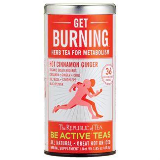 Get Burning Herb Tea for Metabolism