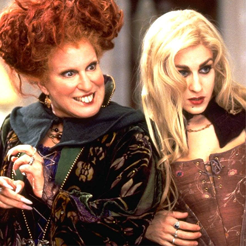 Sarah and Winne Sanderson Hocus Pocus
