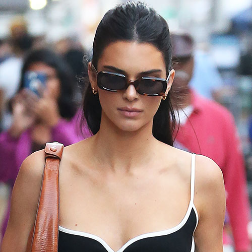 This Is The Sexiest Thing That Kendall Jenner Has EVER Worn--Her Top Is Completely Sheer & You Can See EVERYTHING!