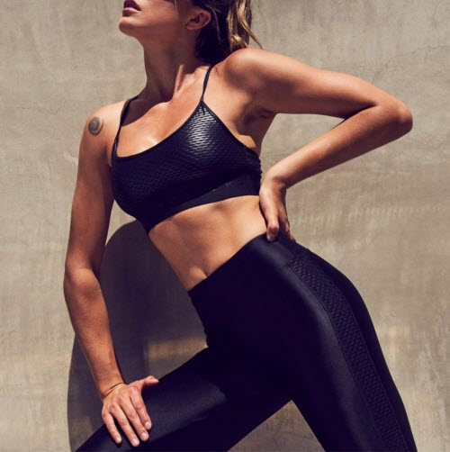 Where To Buy Those Super-Flattering Shiny Leggings All The Fitness Influencers Wear