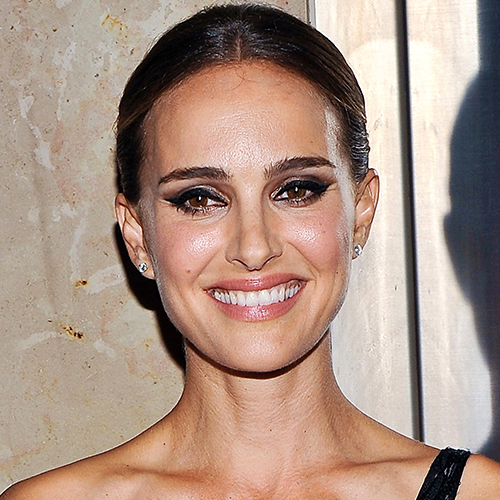This Black Dress Has To Be The Sexiest Thing Natalie Portman Has Ever Worn--It's COMPLETELY See-Through!