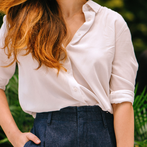 Every Woman *Needs* This Under-$30 Blouse For Work--It's So Chic And Flattering