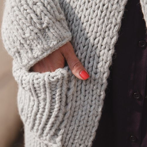 This Super Cozy Cardigan Is The Perfect Layering Piece For Fall