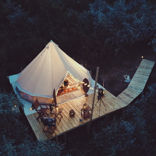How I Planned The Ultimate Glamping Trip On A Budget