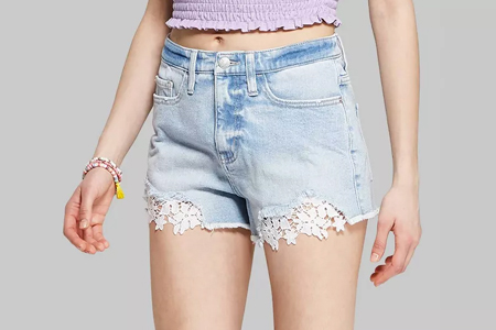 vsco girl halloween costume denim shorts