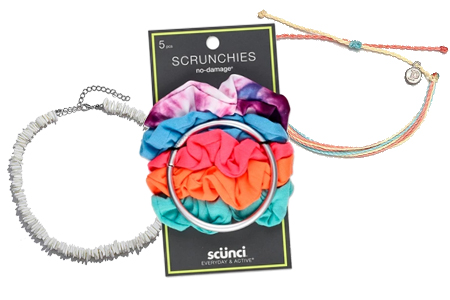 vsco girl halloween costume scrunchies