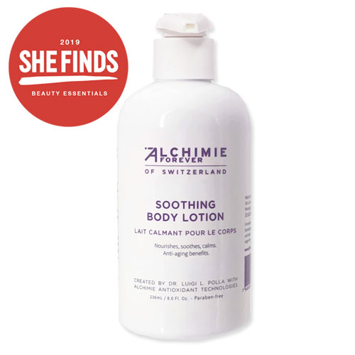 Alchemie Forever's Soothing Body Lotion Is Packed With Antioxidants That Make Your Skin *So* Soft And Smooth