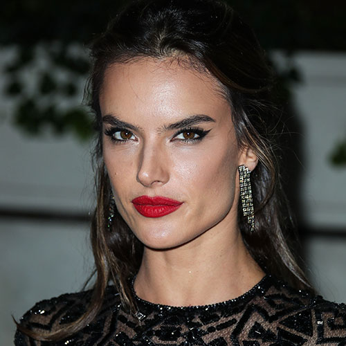 Alessandra Ambrosio Basically Just Flashed The Camera In A High-Slit Dress–Her Legs Look Incredible!