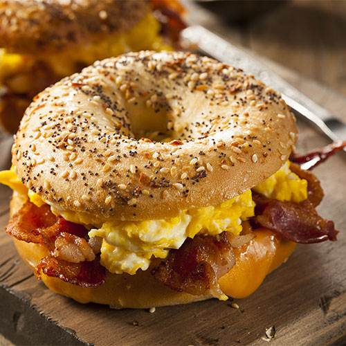 bagel worst breakfast food to eat in the morning for weight loss