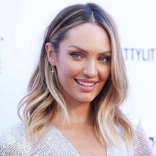 Candice Swanepoel Put EVERYTHING On Display In This Sheer Nude Dress--All We Can Say Is Wow!