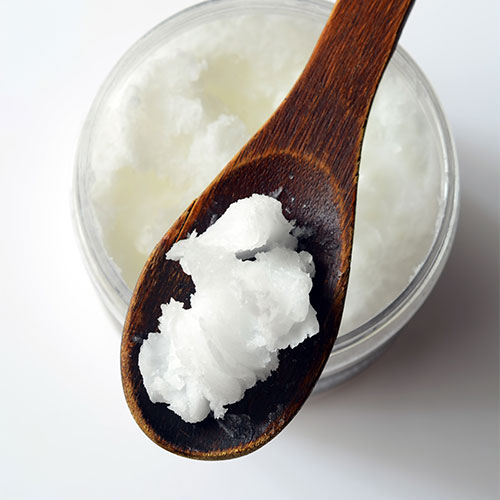 A spoonful of coconut oil