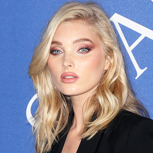 We Can't Believe Elsa Hosk Got Away With Wearing This High-Slit Dress On Instagram--Her Legs Look AMAZING!
