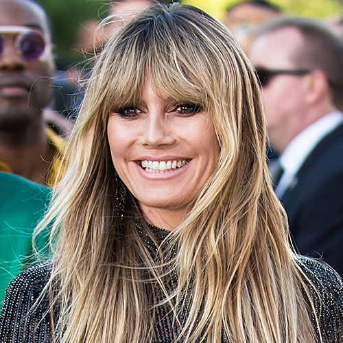 You HAVE To See The Sexy Leather Mini Dress Heidi Klum Wore At 'Maleficent' Premiere