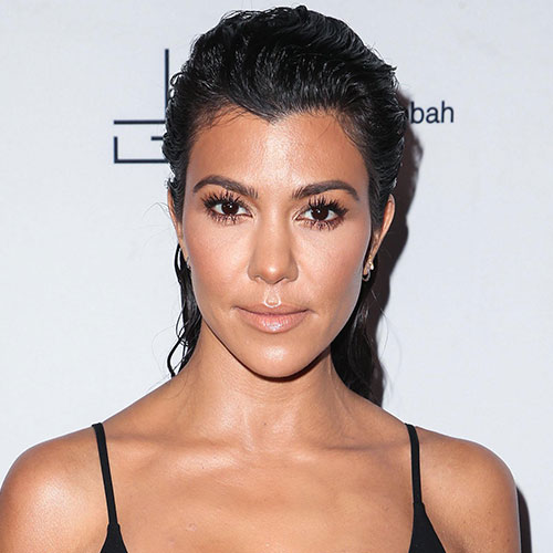 Does This Even Count As A Top?! Kourtney Kardashian's Bustier Is SO Tiny It's Non-Existent!