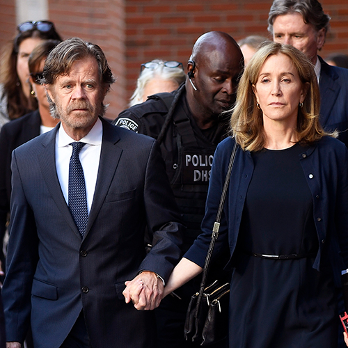 William H. Macy Just Let This HUGE Secret About Felicity Huffman Slip