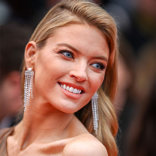 This Skirt Has To Be The Shortest Thing Martha Hunt Has Ever Worn, Like, EVER!