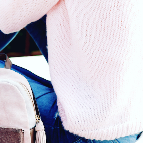 This Nordstrom Sweater Is Even Prettier From The Back–You *Have* To See It