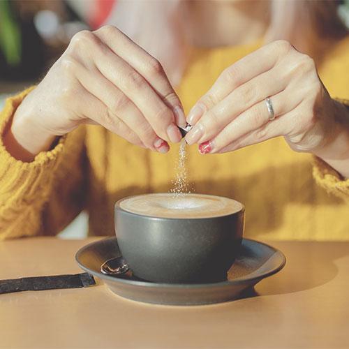 sugar worst coffee additive for slow metabolism