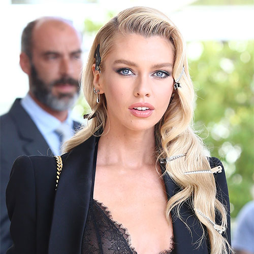 Stella Maxwell Turned Heads In This Skin-Tight Bodysuit–Did We Mention It Was COMPLETELY See-Through?!
