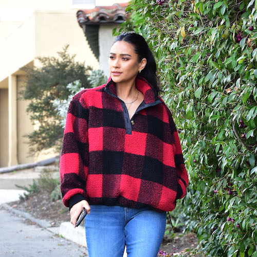 You'll Never Guess Where Shay Mitchell Got Her Under $200 Cozy Outfit From