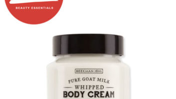 Cold, Dry Winter Weather Is No Match For This Super Luxe Goat Milk Body Cream