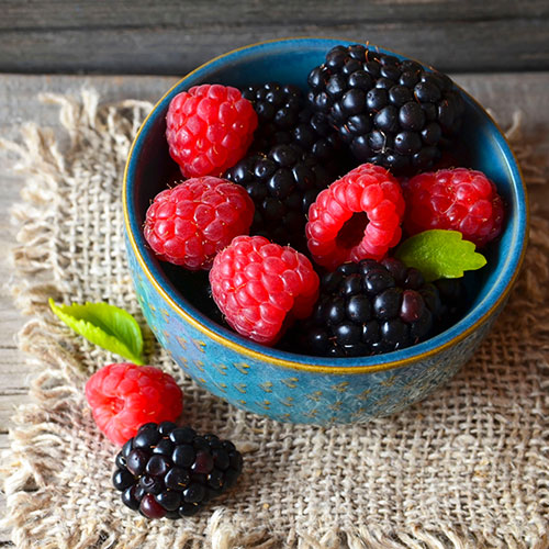 berries anti-inflammatory
