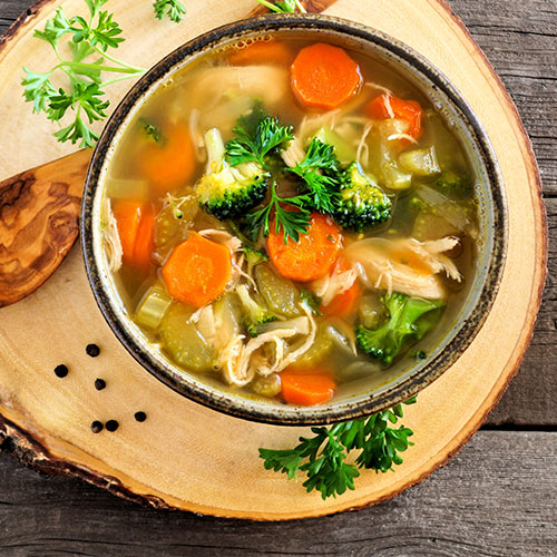 best detox soup to melt belly fat