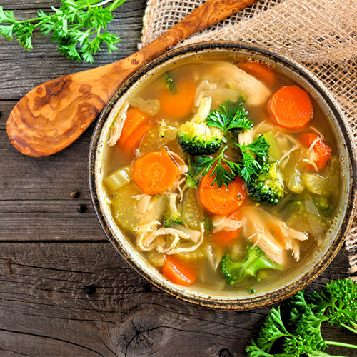 The One Anti-Inflammatory Detox Soup That Basically Melts Belly Fat, According To Nutritionists