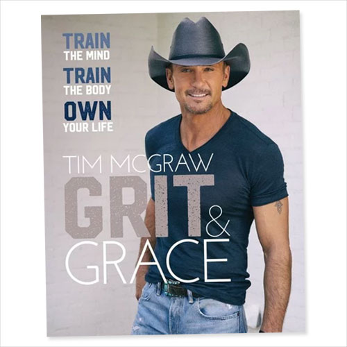 Cover of Grit and Grace by Tim McGraw
