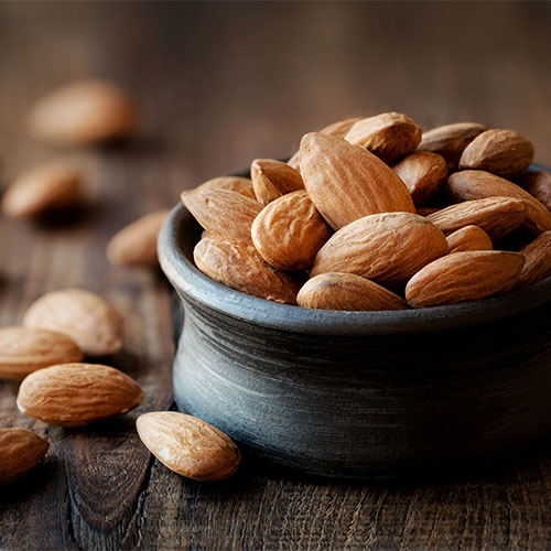 almonds for flat stomach