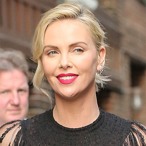 Charlize Theron bombshell transformation